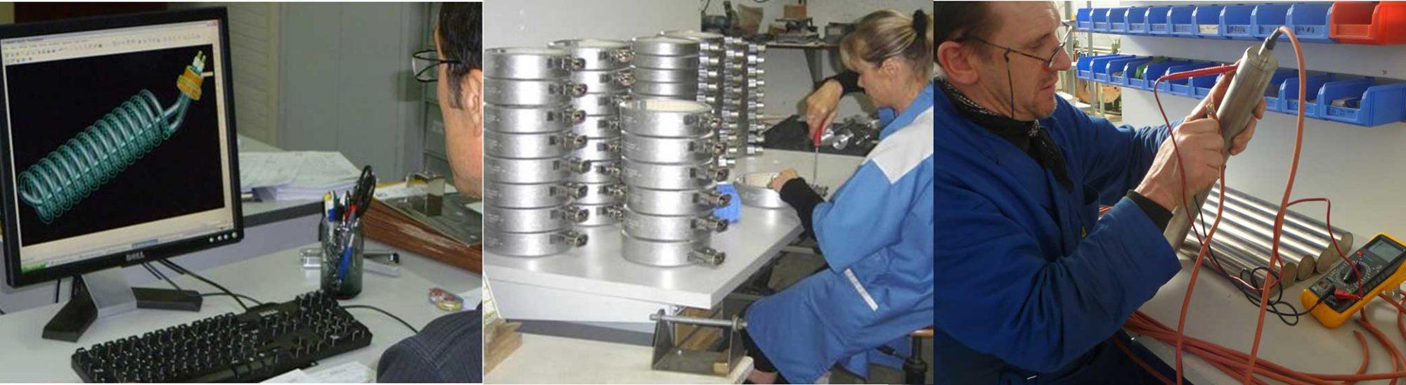 ACI dispose d'un service de réparation et de maintenance  de vos résistances